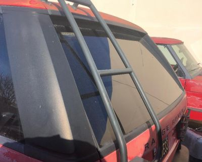 ROOF RACK WITH LADDER Range Rover P38 Safety Devices