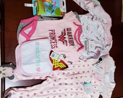 BWT 6-9 month baby girl lot