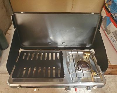 Woods portable table top grill