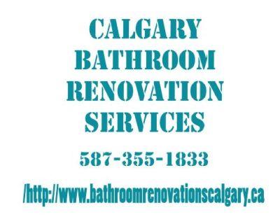 Calgary Bathroom Renovation Services
