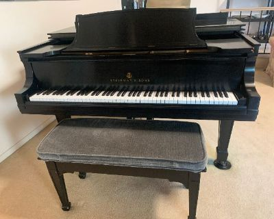 Steinway Piano, Bamboo/Rattan Furniture and Treasures in Golden Hills