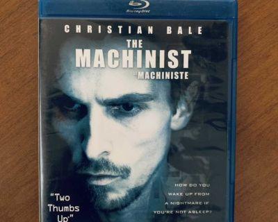 The Machinist Bluray - Christian Bale