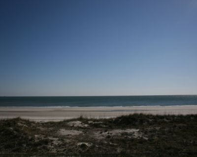Beachfront... Watch Dolphins Play and Pelicans Dive - Jacksonville Beach