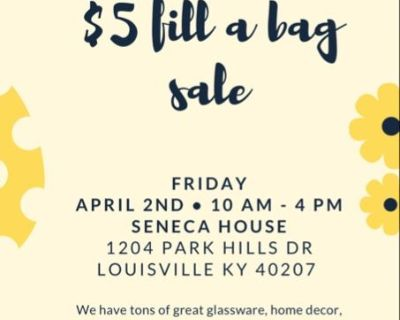 Two $5 Fill a bag Sales Two Locations!