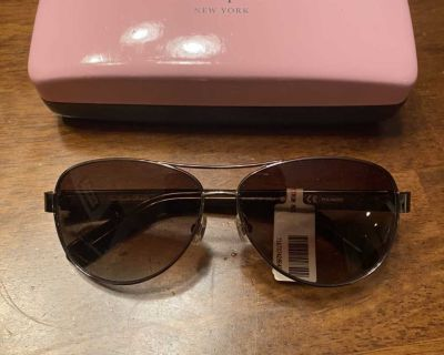 New Kate Spade Dahlia 2 Gold Havana Warm Brown Sunglasses