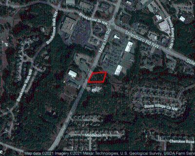 0.901 Acres Retail/Office Land in Acworth