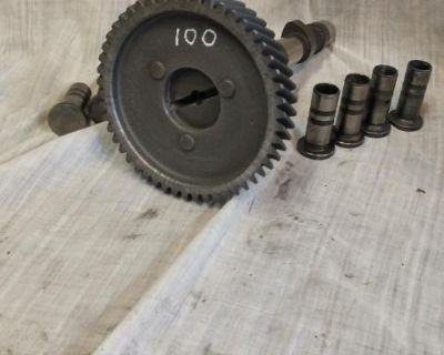 Camshaft-German 100 cam /gear and lifters reground