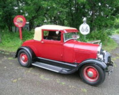 Featured 1929 Model A Sport Coupe lowered price!