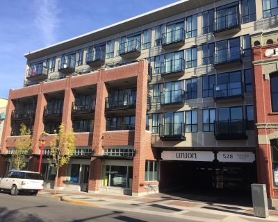 1Bdr Condo, Fully Furnished in Downtown Victoria - City Views & Incl. parking - Downtown Victoria