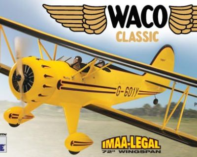 WANTED: Great planes Waco arf new in box