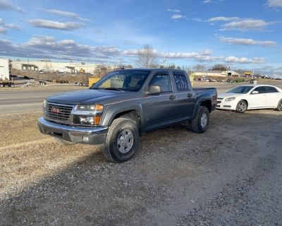 2008 GMC Canyon Colorado 4 x 4 truck