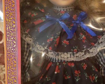 Dollhouse Treasures Porcelain Doll
