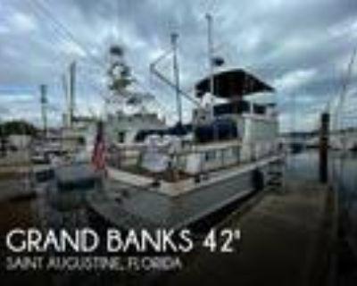 42 foot Grand Banks 42 classic trawler