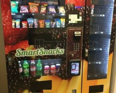 2015 Natural 2 Go N2400 Seaga Combo Snack and Beverage Vending Machines