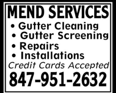 MEND SERVICES - Gutter Cleani...