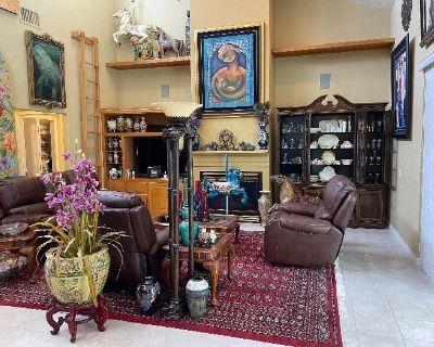 Apollo Beach HUGE Asian inspired, High End Art Work, Viking, FULL HOUSE Estate Sale!