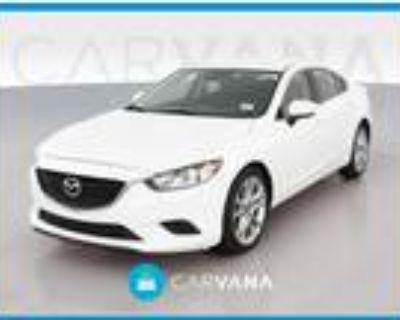 2017 Mazda MAZDA 6 White, 68K miles