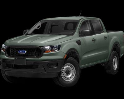 New 2021 Ford Ranger XL RWD 4D Crew Cab