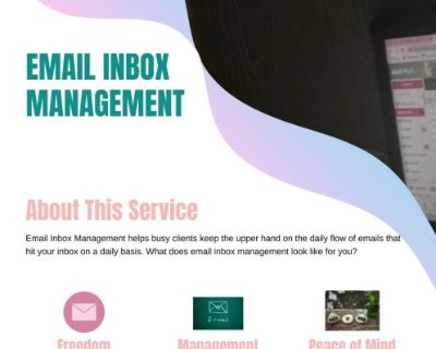 Virtual Assistant/ Email In Box Management