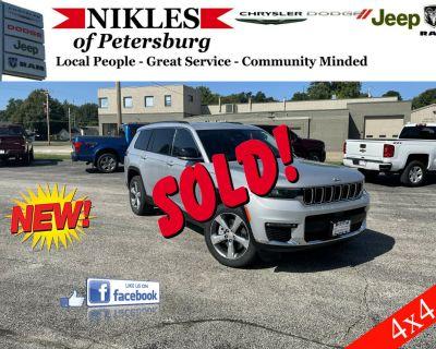 2021 Jeep Grand Cherokee L Limited 4D SUV 4WD