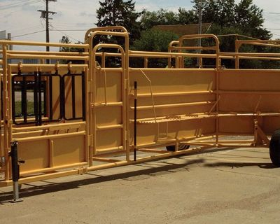 2020 For-Most Livestock Equipment Pro Series Tubs And Alley