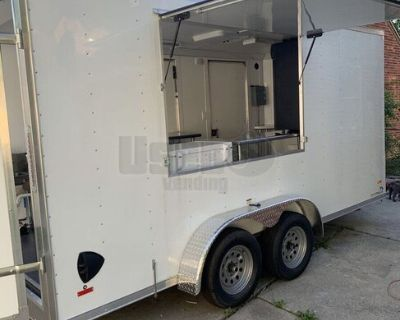 Brand New 2021 - 7' x 16' Mobile Food Concession Trailer