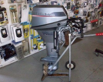 1991 9.9 Hp Yamaha Outboard 4-stroke Long Shaft Remote With Controls