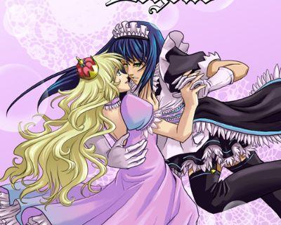 Lavender Legend By Webcomic Jamie Jennings Paperback Like NEW