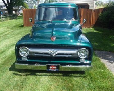 1955 Ford 1/2 Ton Pickup All-Steel Pickup Restored Truck Engine Swap