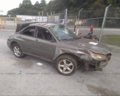 Salvage Gray 2006 Subaru Impreza Sedan