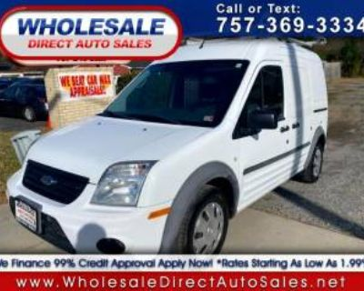 2012 Ford Transit Connect Van XLT without side or rear glass