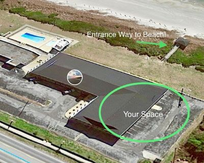 Oceanfront Community_50 STEPS from PRIVATE BEACH_WiFi_Kitchen - Atlantic Beach