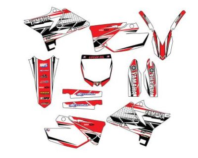 Yamaha Ufo Restyled Yz125-250 2002 To 2016 Graphic Kit Stickerspegatinas Mxgraph
