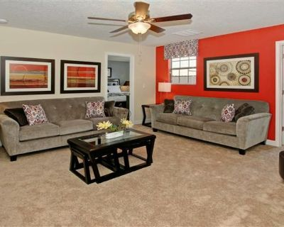 BIG Affordable Disney Home w/ Lazy River, Gym, Theatre Nearby Golf Resort - Champions Gate