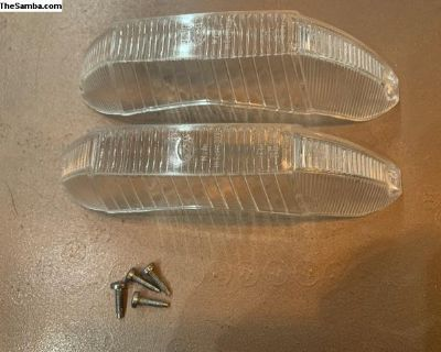 NOS Type 3 Hella clear turn lenses