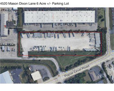 4520 Mason Dixon Lane - 6 Acre Tractor Trailer Parking Lot