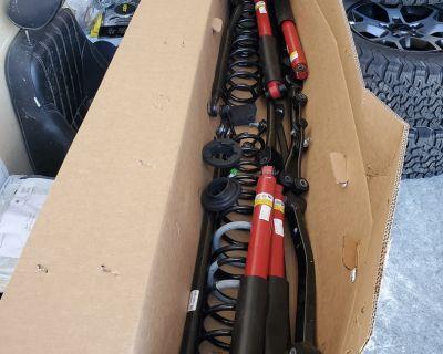 Indiana - 2021 JLUR Hardtop Diesel Take-Off Suspension Parts