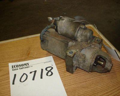 Chevrolet S10/s15/sonoma Starter Motor 6-262 (4.3l) 01 02