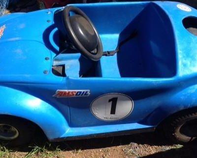Rare F.k.l Kartworld VW Bug Go Kart-price Reduced