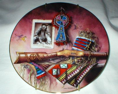 """We'll Fight No More"" Lore of the West Hamilton Collector Plate w/COA"