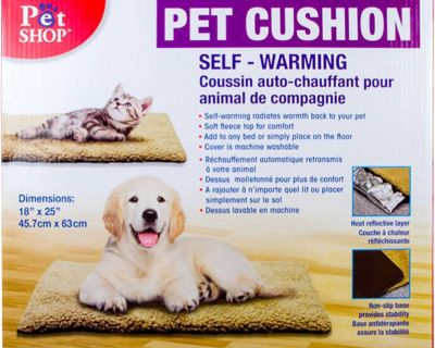 Pet (Cat and Dog) Cushion, Self-Warming/Coussin de chat, auto chauffant