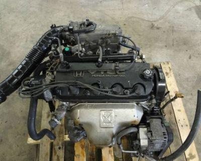 Jdm Honda Accord 98-02 F23a Engine Only 4 Cylinder 2.3l Sohc Vtec Engine Accord