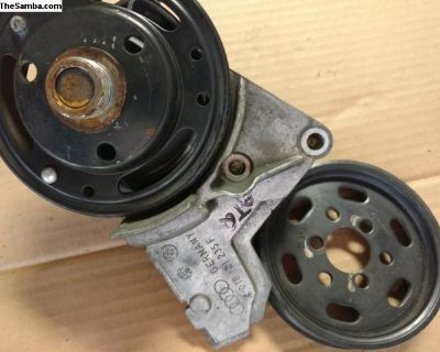 Accessory pulleys / water-cooled