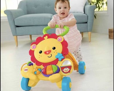 Baby Walker (Excellent Condition) + Free (clothes & toys)