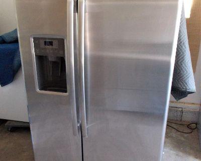 Stainless Steel GE Refrigerator