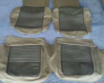 1967 Ford Mustang Seat Covers New * Ivy Gold *