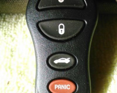 Jeep Dodge Or Chrysler Factory Keyless Remote Fob Fcc#gq43vt17t P/n: 04602260