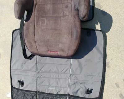 Booster seat and car seat pad