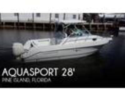 28 foot Aquasport 28