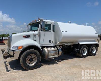 2019 Peterbilt 348 4000 gal 6x4 T/A Water Truck